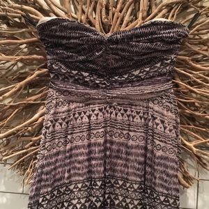 NWT Free People Strapless hi-low Dress